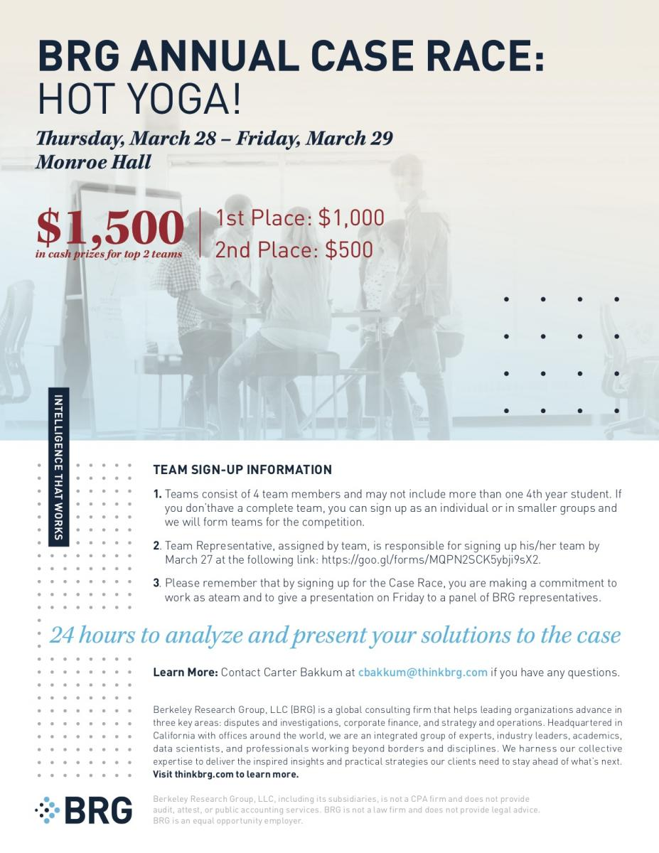 Hot Yoga Case Competition