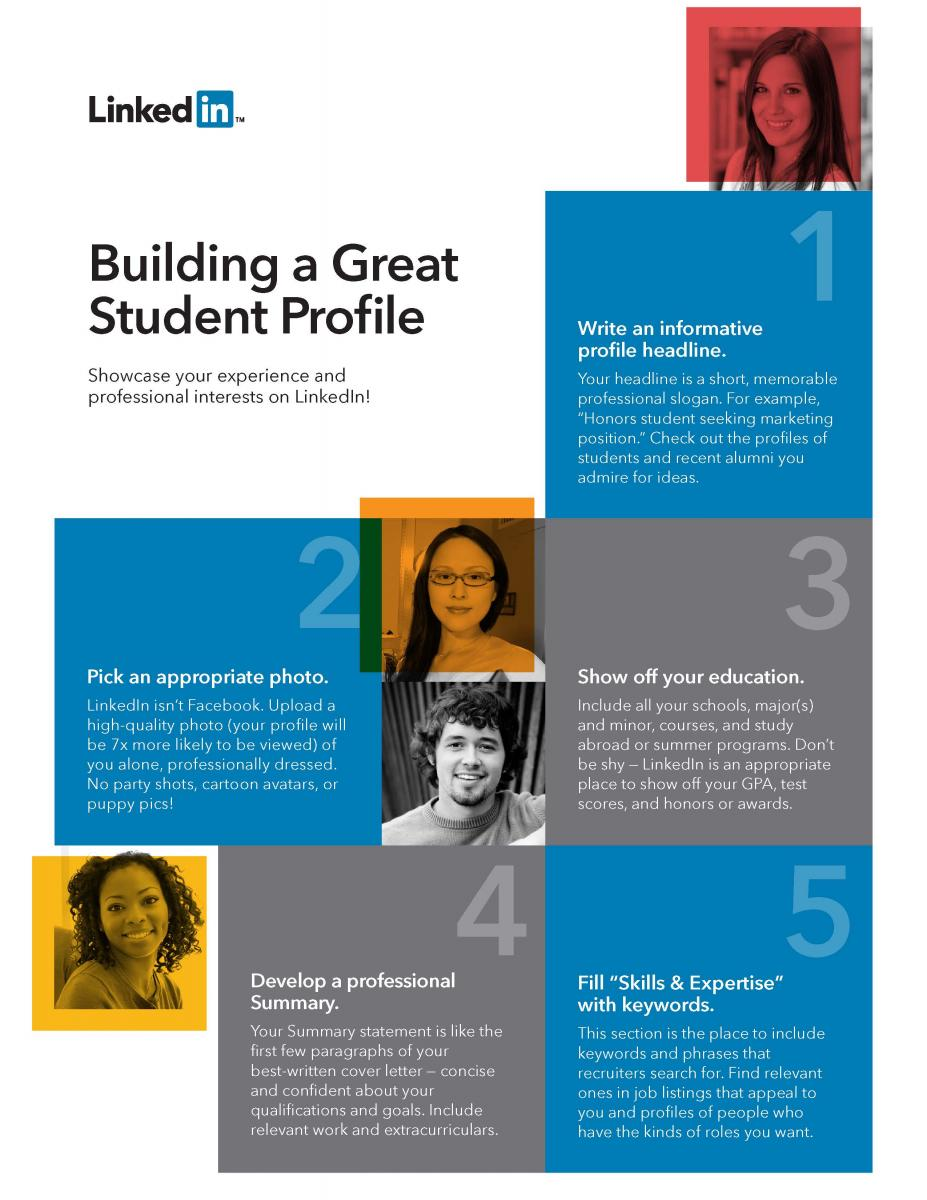 LinkedIn Building a Great Student