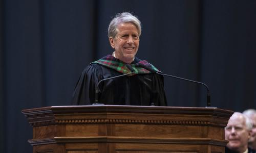 Charles Holt in Convocation